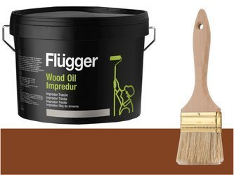 Flugger Wood Oil Impredur olej tarasu 0,7L Kasztan