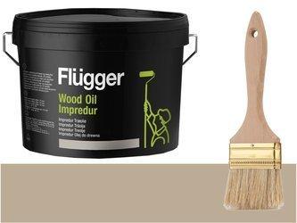 Flugger Wood Oil Impredur olej tarasu 0,7L SZARY