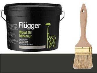Flugger Wood Oil Impredur olej tarasu 2,8L GRAFIT
