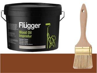 Flugger Wood Oil Impredur olej tarasu 2,8L Kasztan