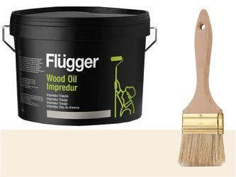 Flugger Wood Oil Impredur olej tarasu 2,8L Mleczny