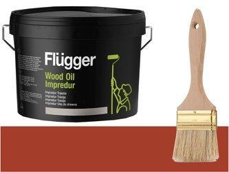 Flugger Wood Oil Impredur olej tarasu 2,8L OCHRA