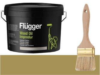 Flugger Wood Oil Impredur olej tarasu 2,8L ZIELEŃ