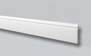 LISTWA PRZYPODŁOGOWA BIAŁA WALLSTYL FL2 120x 15mm