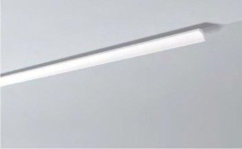 LISTWY PRZYSUFITOWE Białe NOMASTYL B2 35x35mm