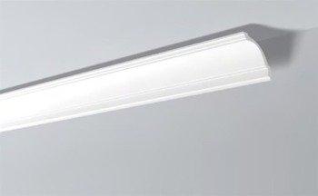 LISTWY PRZYSUFITOWE Białe NOMASTYL GP 100x100mm