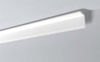 LISTWY PRZYSUFITOWE Białe NOMASTYL GT 120x50mm