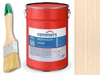 Lazura woskowa Remmers do wnętrz 10 L BIAŁY