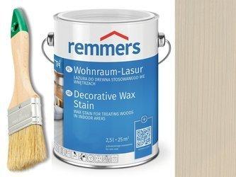Lazura woskowa Remmers do wnętrz 2,5 L SZARY Antyczny 2302