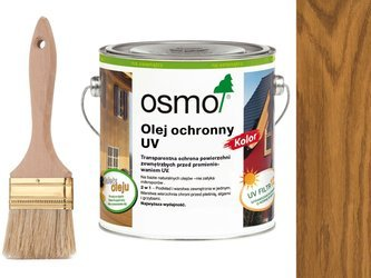 OSMO Olej Ochronny UV KOLOR Dąb 425 2,5L + GRATIS