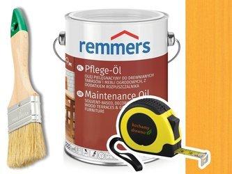Remmers Pflege-Ol olej do drewna tarasu SOSNA 2,5L