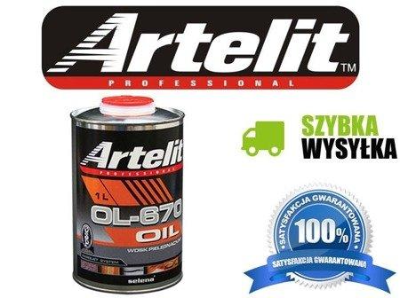 Artelit Wosk pielęgnacyjny OL-670 1L
