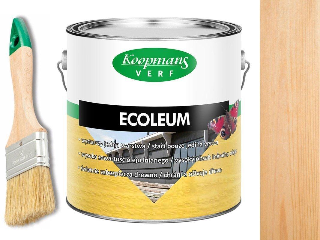 KOOPMANS ECOLEUM Impregant Olej 10L BEZBARWNY UV