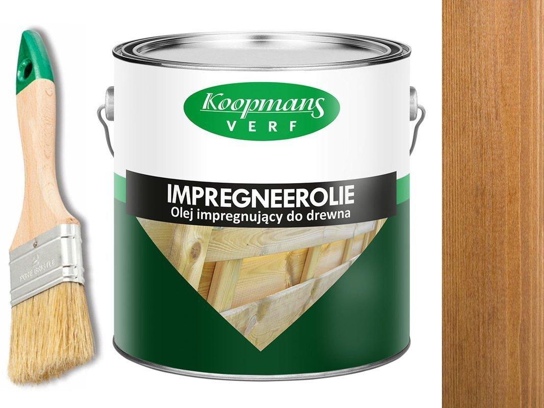 KOOPMANS IMPREGNEEROLIE Impregnat 2,5L 106 ORZECH