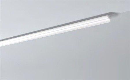 LISTWY PRZYSUFITOWE Białe NOMASTYL F 35x30mm