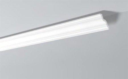 LISTWY PRZYSUFITOWE Białe NOMASTYL GR 80x85mm