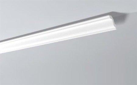 LISTWY PRZYSUFITOWE Białe NOMASTYL K 45x50mm