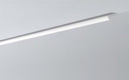 LISTWY PRZYSUFITOWE Białe NOMASTYL QR 20x20mm