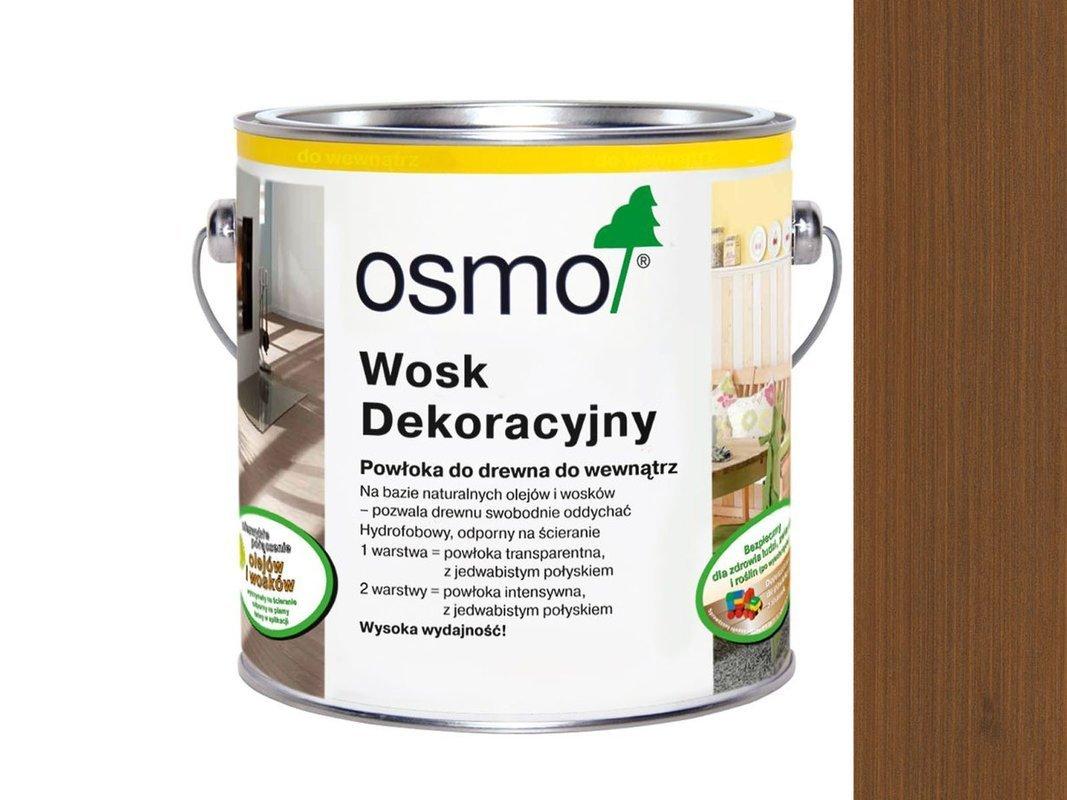OSMO 3144 wosk dekoracyjny KOLOR LAPACHO 0,125L