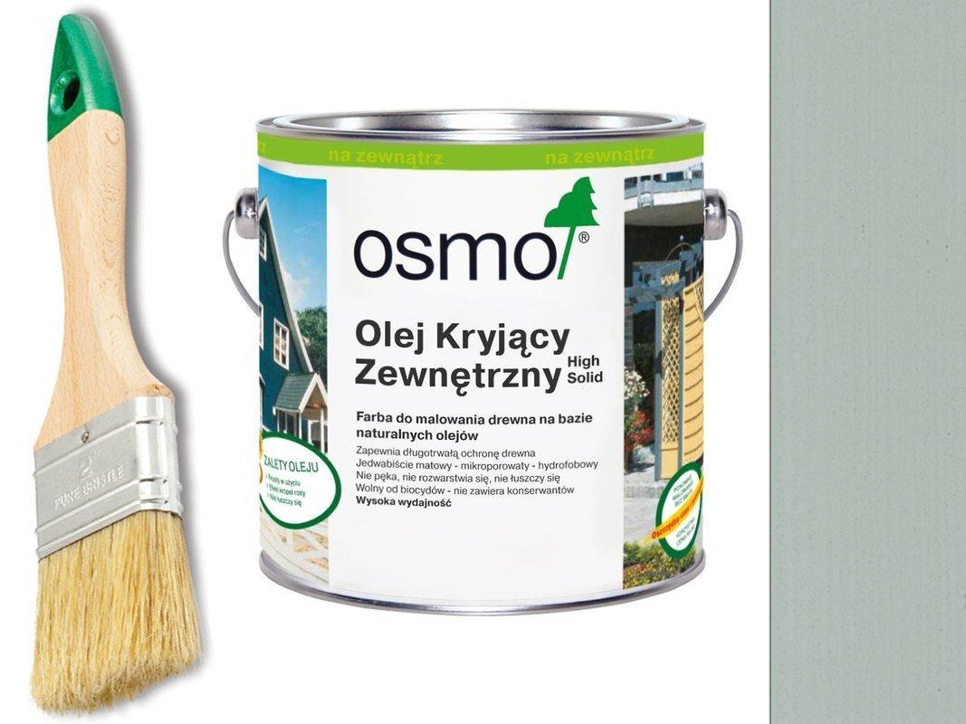 OSMO Olej Kryjący 2735 JASNY SZARY 2,5L + GRATIS