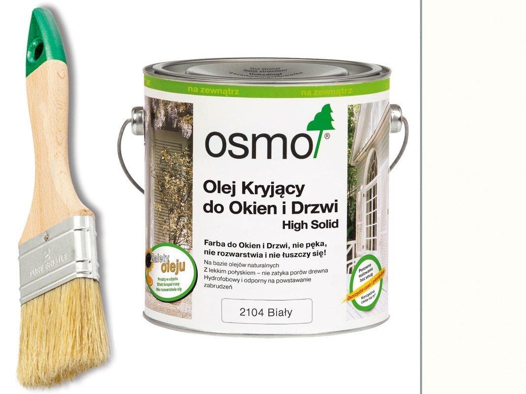 OSMO Olej Kryjący do OKIEN i DRZWI 2104 750ml