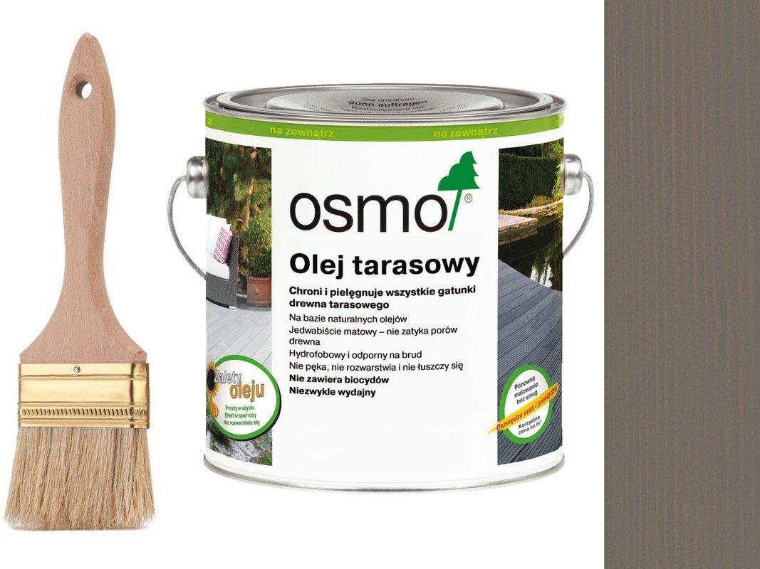 OSMO Olej do Tarasów 019 SZARY 2,5L + GRATIS