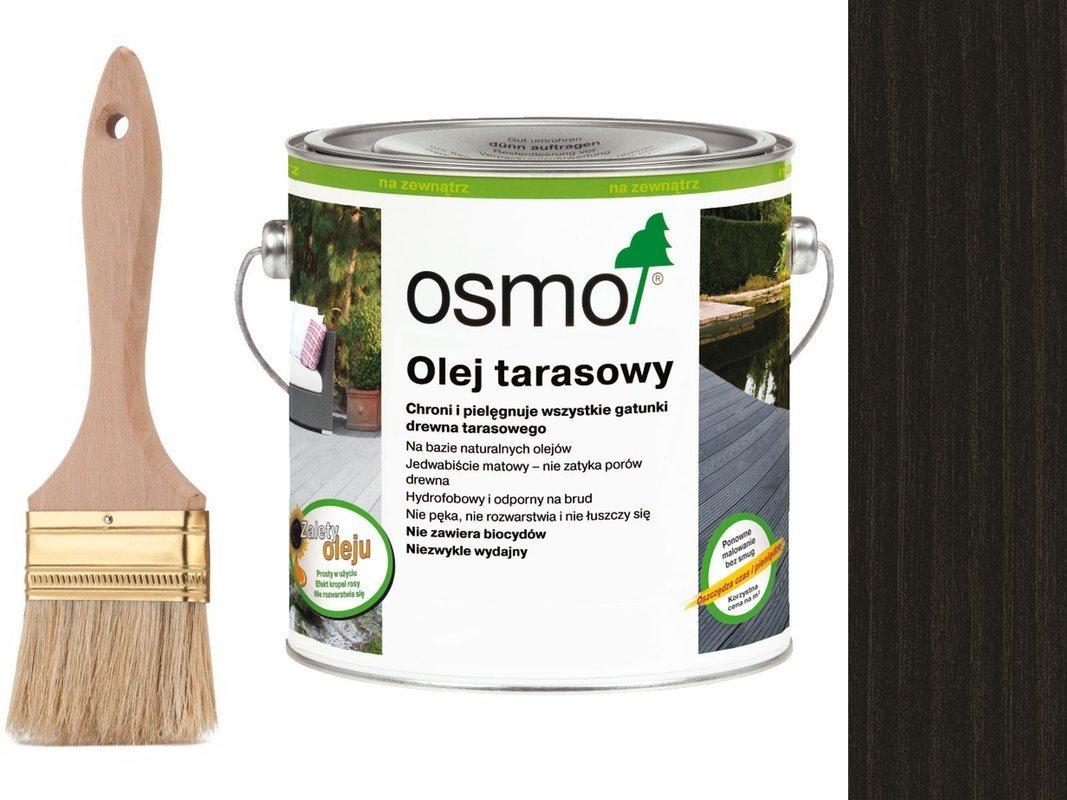 OSMO Olej do Tarasów 020 CZARNY 25L + GRATIS