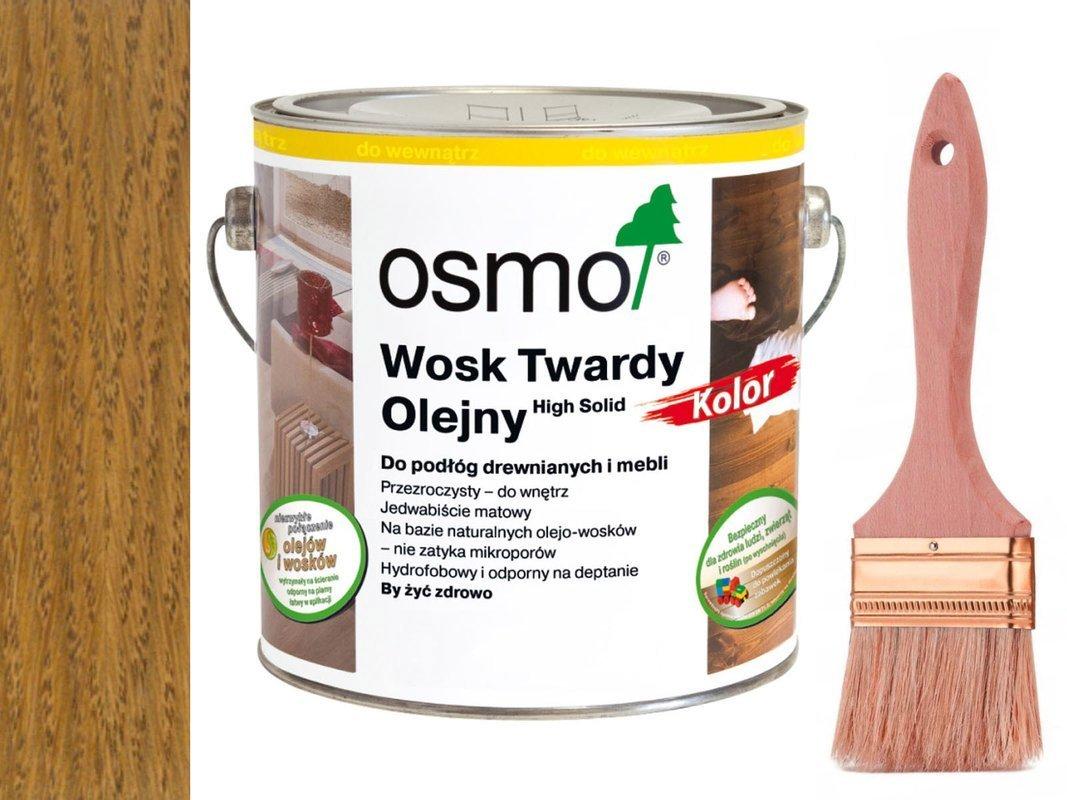 Osmo 3072 wosk twardy olejny olej 2,5 L BURSZTYN