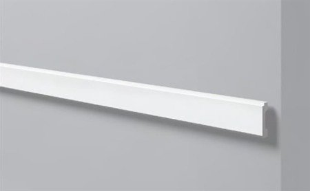 PROFIL PRZYŚCIENNY BIAŁY WALLSTYL WD1 65 x 15mm