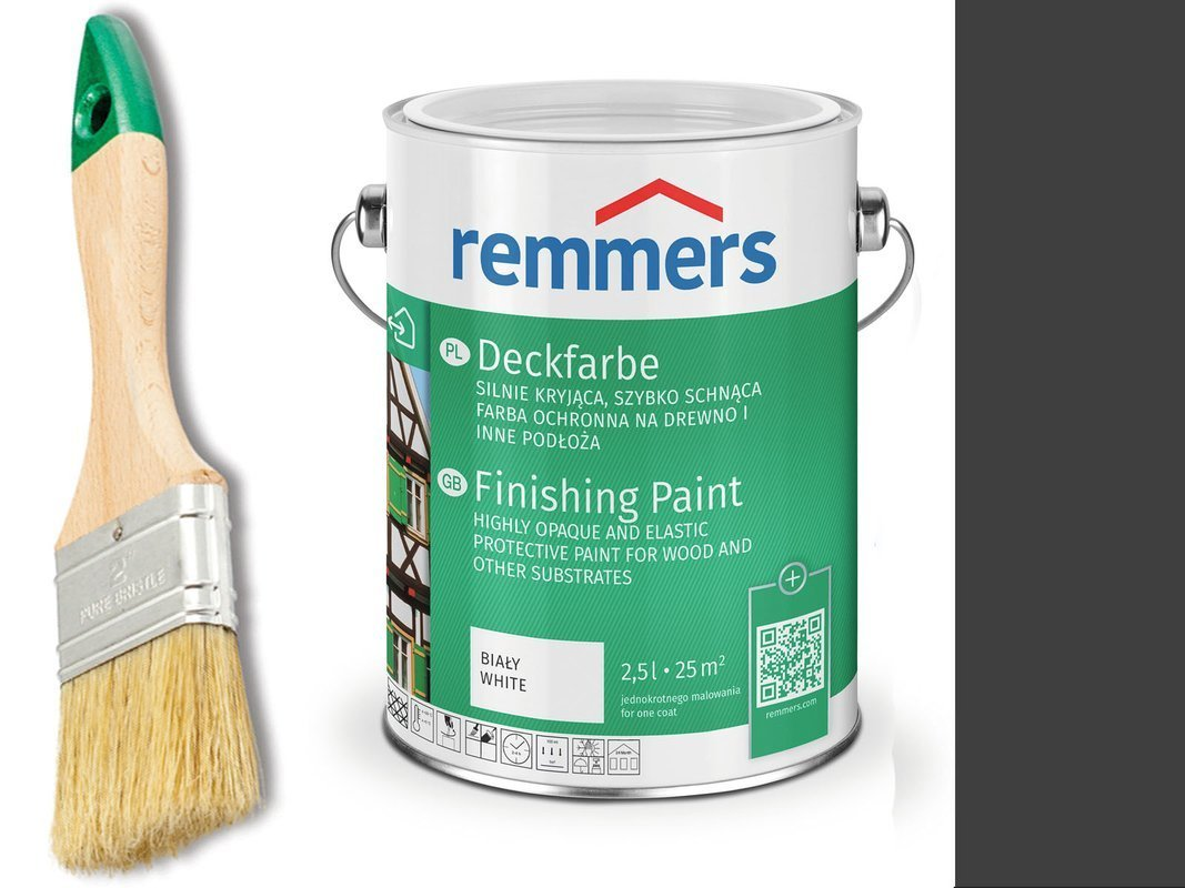 Remmers Farba do drzwi mebli ocynk ANTRACYT 2,5 L