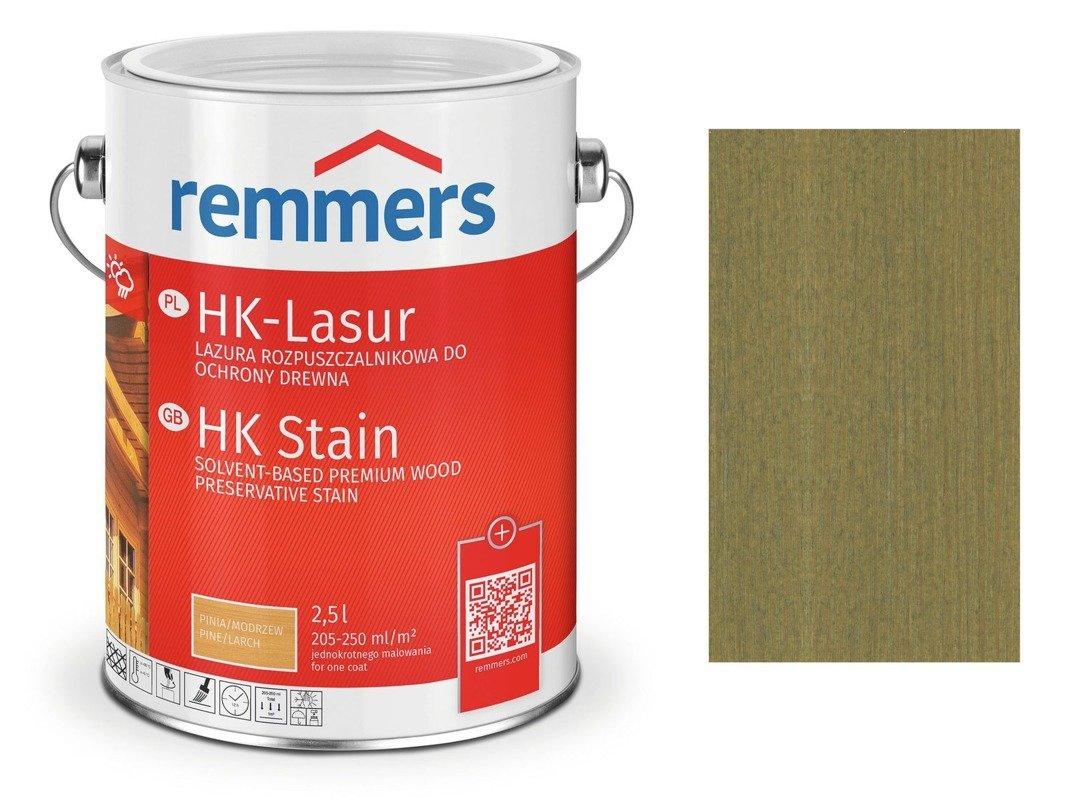 Remmers HK-Lasur impregnat drewna 2,5 ZIELEŃ SOLNA
