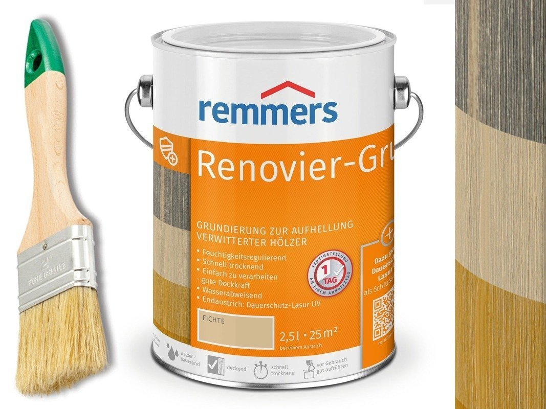 Remmers Renovier-Grund 1504 5 L zwietrzałe drewno