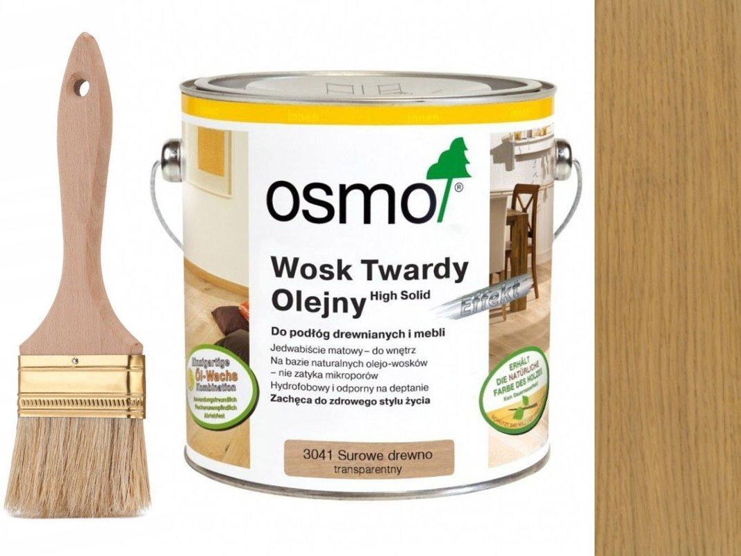 Wosk Twardy Olejny Surowe Drewno OSMO 2,5 L 3041